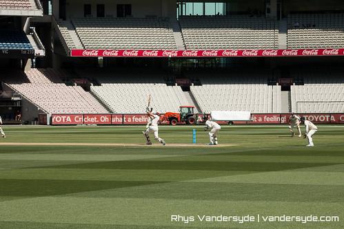 Cricket at the MCG - Melbourne, Australia, 2014