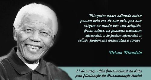 Dia Internacional da Luta pela Eliminação da Discriminação Racial by Biblioteca Abdias Nascimento