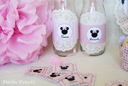 Detalles Kit imprimible minnie Mouse Merbo Events