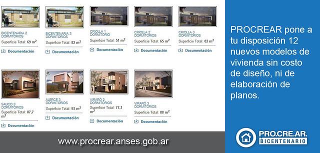 Ya se encuentran disponibles 12 nuevos modelos de casas pr for Modelos de casas procrear clasica