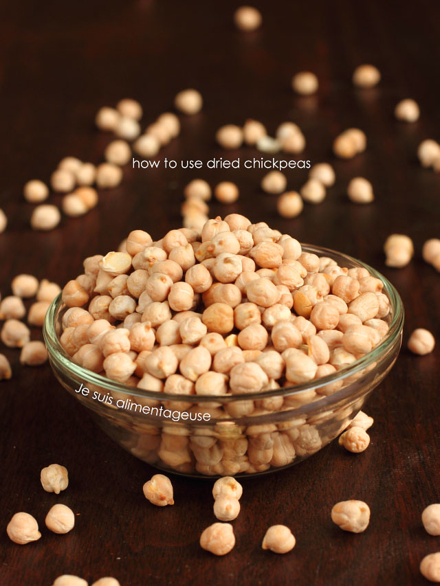 How to use dried chickpeas   Je suis alimentageuse   #vegan #DIY #healthy #unprocessed