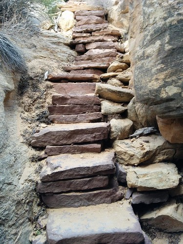 Joint trail stairway