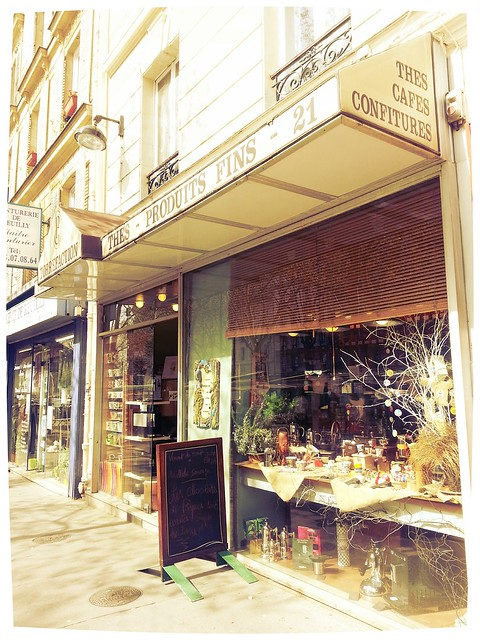 Torréfacteur rue de Reuilly