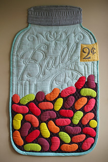 Jelly Bean Jar Quilt