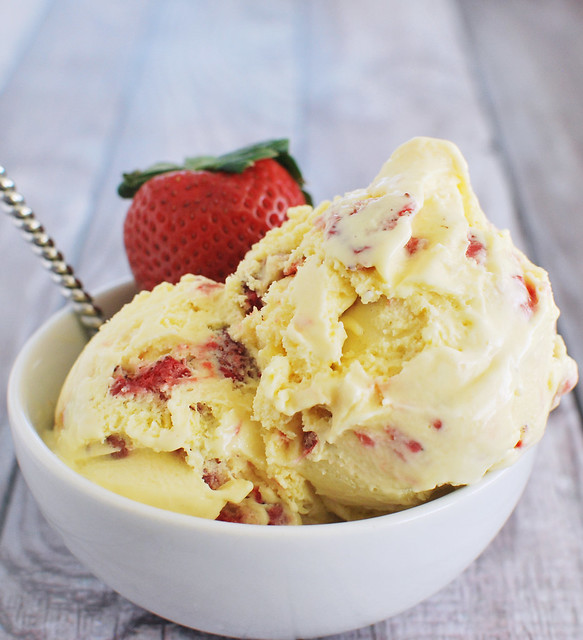 Strawberry Sour Cream Ice Cream | Flickr - Photo Sharing!