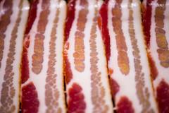bacon, meat, salt-cured meat, kobe beef, food,