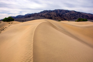 Mesquite Flat Dune in Death Valley