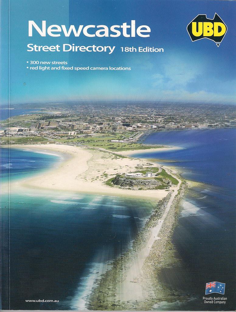 UBD Newcastle Street Directory 18th Edition 2003 | Luke David O