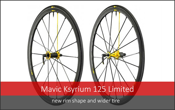 Mavic's New Ksyrium - new rim shape & wider tire
