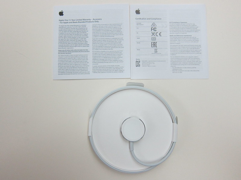 Apple Watch Magnetic Charging Cable (1m) - Box Contents