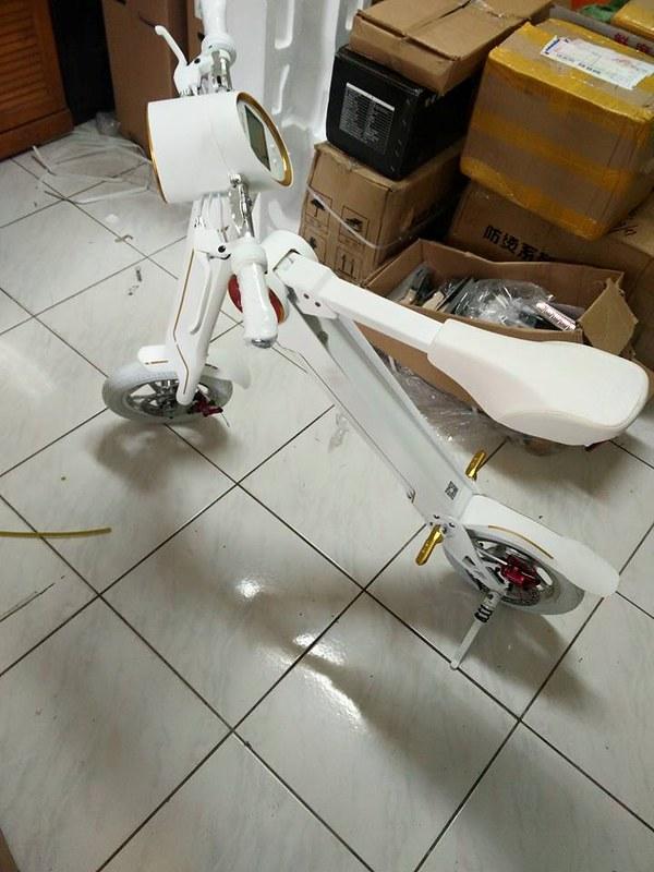 現貨熱賣~LEHK1電動車特仕版 樂和K1 摺疊電動車 荷蘭設計 續航40公里/載重120KG/空拍/代步車