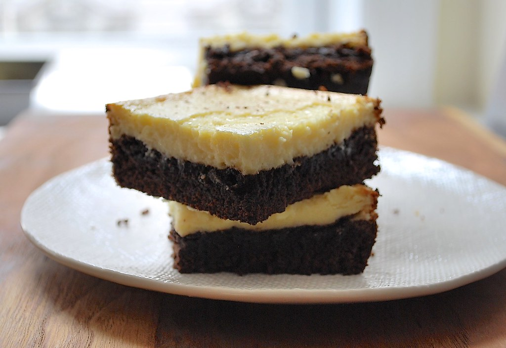 Cheesecake-Topped Brownies Recipe