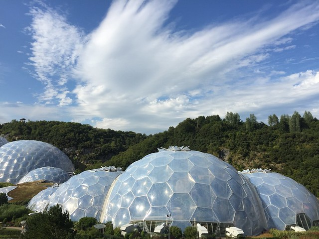 Eden Project, Cornwall, UK. iPhone 6 Plus.