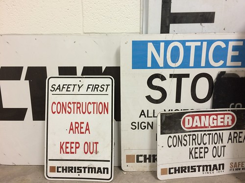 New THL: Construction Signs