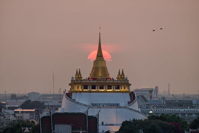 Sunset @Golden Mount