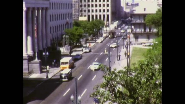 New Orleans Trolleys 1971 Part 1