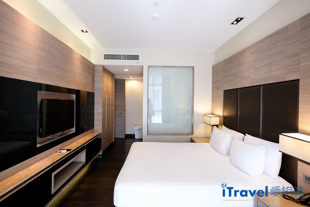 《曼谷飯店推薦》畢里斯頓蘇琪斯公寓 Qiss Residence by Bliston:每晚3千元內超大住宿空間,擁有廳廚衛浴與洗衣起居的完整住宿機能。