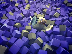 I lost the lovely wife today, a victim of suffocation by foam blocks