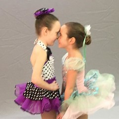 I can't wait to see the final pics. #pictureday #danceclass #dance #ballet #silly #sisters