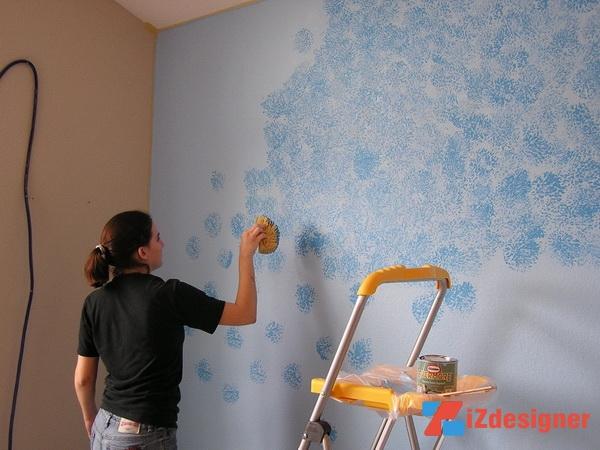 Sponge Painting là gì ?
