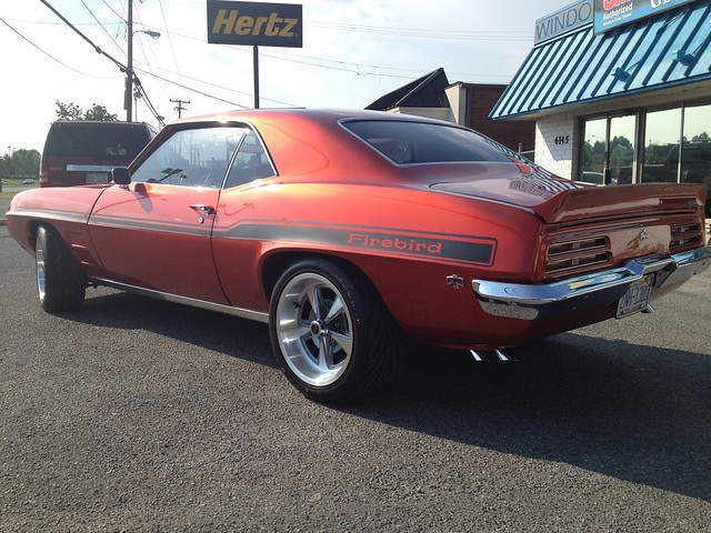 '67 Pontiac Firebird - Yenko Firebird Stripes - Matte Black