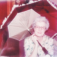 My grandmother. If ever there was a photo that could inspire a song...