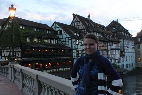 Jenni at Strasbourg's Petite France