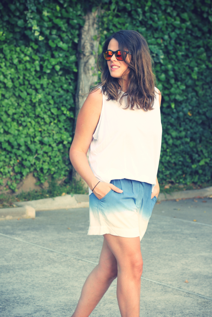 Look Tie Dye Shorts - Monicositas