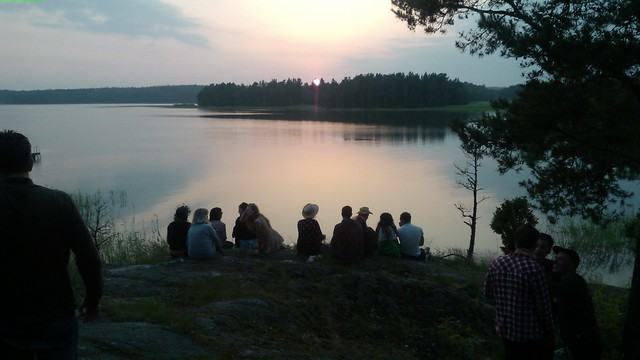 White nights in Finland