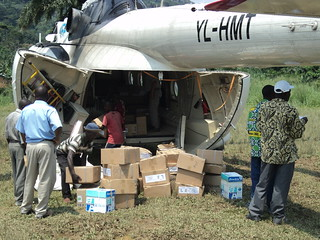 Humanitarian flights