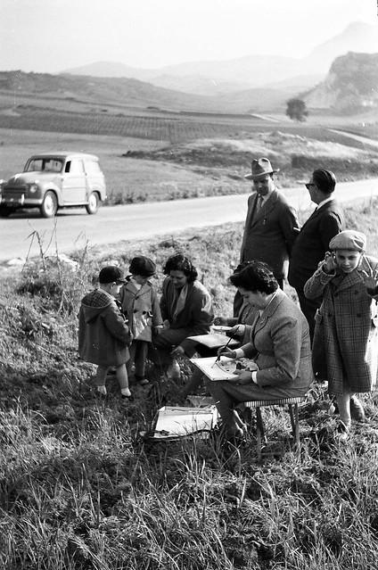 1952 - come eravamo: le pittrici della domenica