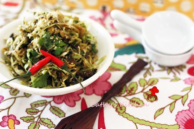 發現新世界~ 緬甸綠茶沙拉 Burmese Green Tea Leaf Salad 3