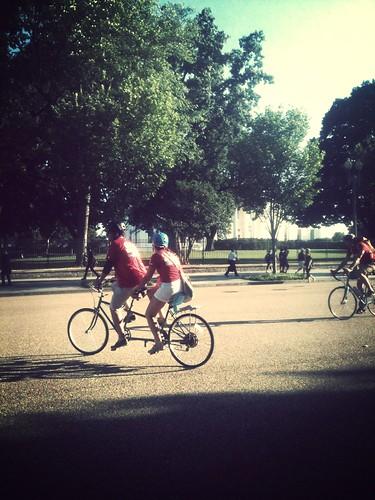 Bikes and Baseball
