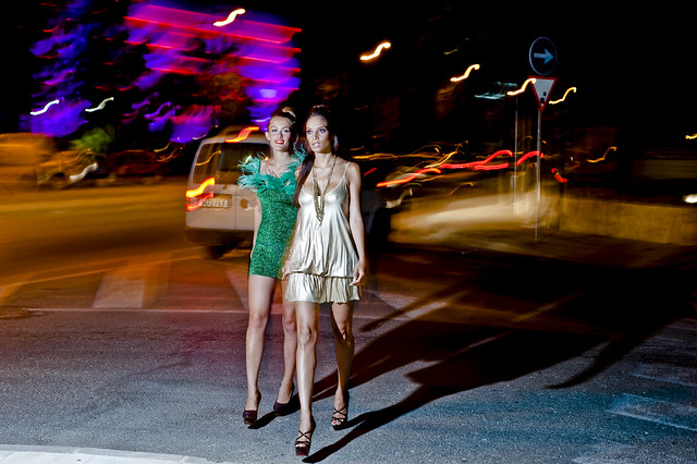 Ibiza style watch: Party promenade