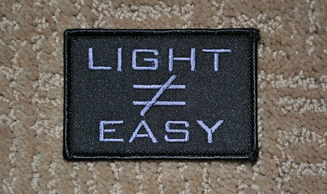 Light does not equal Easy
