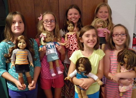 AG Doll Clothes August Baseball Ts