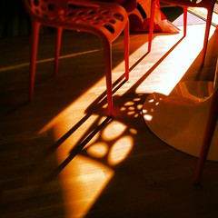 Good Morning! #shadows #chairs #morning #sun #wakeup