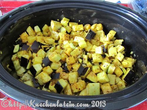 ©Slow Cooker Auberginen mit Kartoffeln (1)