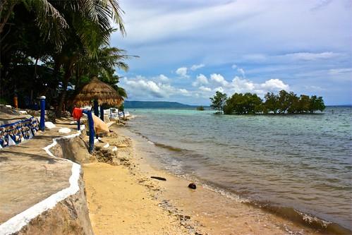 Beach in front of Casa de la Playa