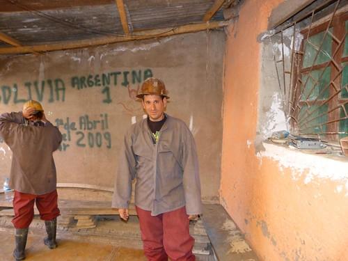 Vestido de minero en Potosí