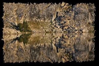 May Lake, reflected