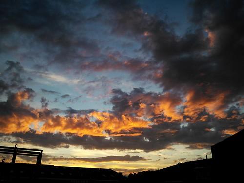 sunset sky nature clouds закат небо природа облака