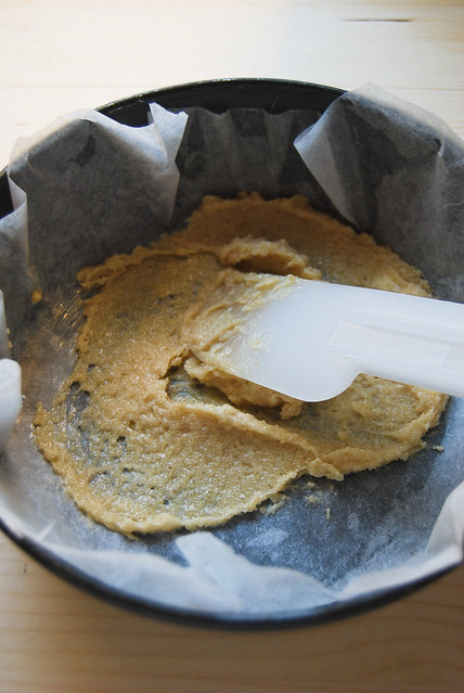 Torta di pere: composto di burro