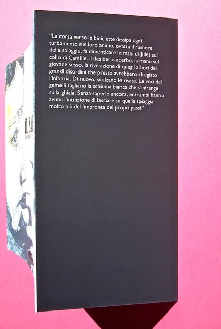 Jean_Baptiste Del Amo, Il sale. Neo edizioni. Prog. graf. e ill.: Toni Alfano. Ritr. fotog b/n dell'aut.: Sylvain Norget. Logo Potlach: Ricky Butler. Copertina e risv. di cop (part.), 1