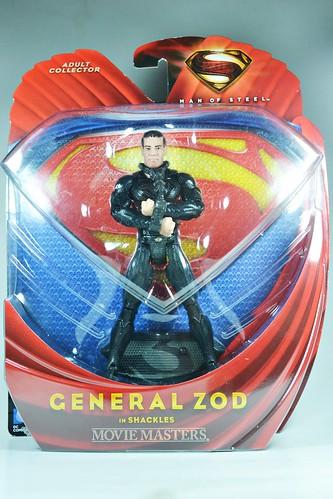 Man of Steel: General Zod in shackles