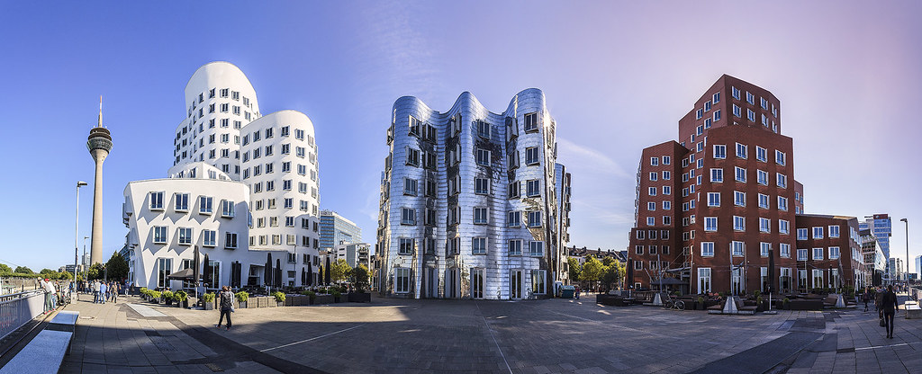 zollhof buildings media harbour d sseldorf germany skyscrapercity. Black Bedroom Furniture Sets. Home Design Ideas
