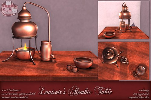 c( TC ) Louisoix's Alembic Table (poster)
