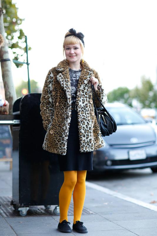 melissa_1013 street style, street fashion, women, Valencia Street, San Francisco, Quick Shots