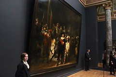 The Night Watch in the Rijksmuseum