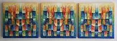 2007 n°1,2,3  50x50cad